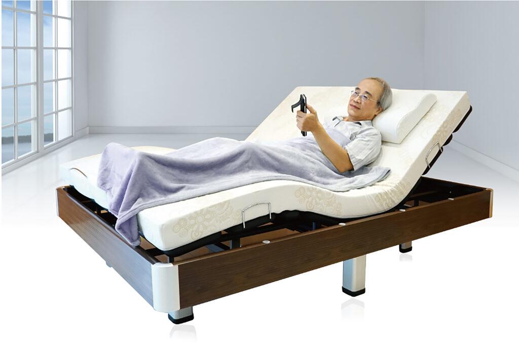 居家照顧床適用行動不方便的使用者